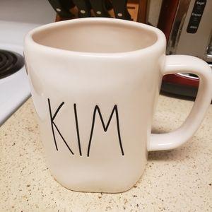 """NEW! Rae Dunn """"Kim"""" coffee mug"""